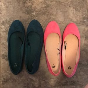 Two pairs of cute ballet flats!